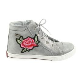 Ren But harmaa Kengät kengät tytöt hopea Ren Mutta 4279