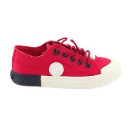 Big Star punainen Punaiset suuret tennarit Sneakers 374004