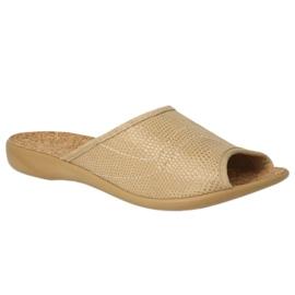 Ruskea Befado naisten kengät pu 254D094