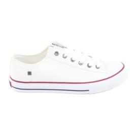 Big Star Sneakers sidottu valkoinen 174271