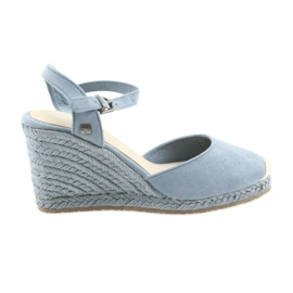 Big Star sandaalit espadrilles 274A170 sininen