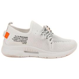Mckeylor valkoinen Slip Sport Shoes