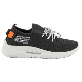 Mckeylor musta Slip Sport Shoes