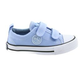 Velcro-tennarit American Club LH50 sininen lasten kengät