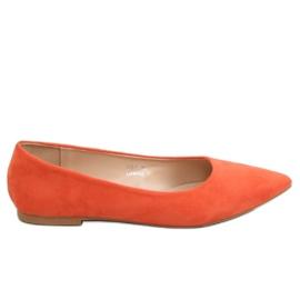 Oranssi naisten ballerina 3157 Orange