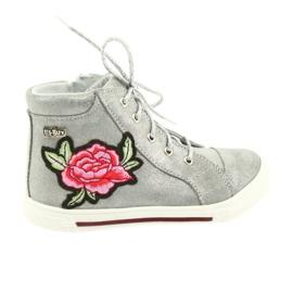 Ren But harmaa Kengät kengät tytöt hopea Ren Mutta 3237