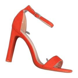 Oranssi korkean koron sandaalit NF-37P Orange