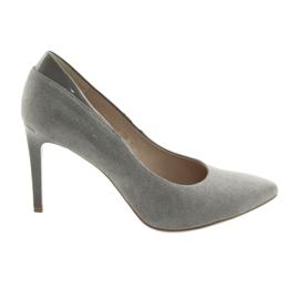 Pumput on tyylikäs ANIS naisten kengät harmaa