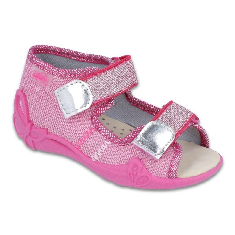 Pinkki Befado keltainen lasten kengät 342P001