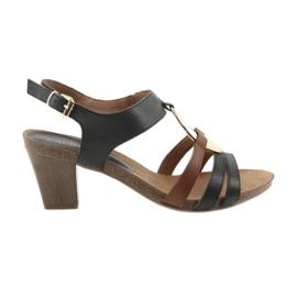 Caprice naisten sandaalit kultaa soikea