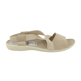 Sandaalit naisille Adanex 17495 beige ruskea