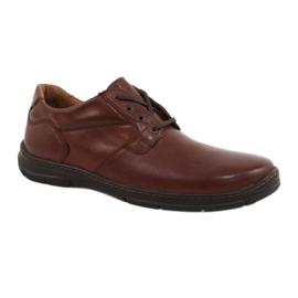 Badura-kengät miesten mukavuus 3509 ruskea