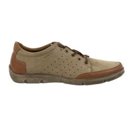 Miesten kengät Badura 3524 beige / ruskea