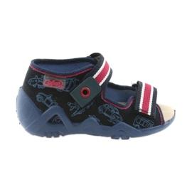 Laivasto Befado keltainen lasten kengät 350P003
