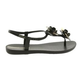 Ipaneman sandaalit naisten kengät, joissa kukat 82662