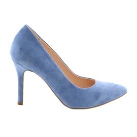 Pumput naisten naisten kengissä Edeo 3313 sininen