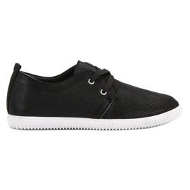 Super Mode Klassiset mustat kengät