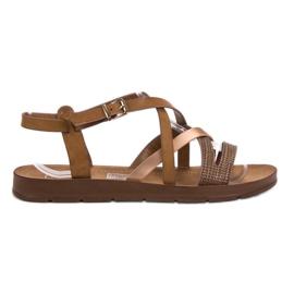 Filippo ruskea Rento sandaalit