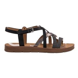 Filippo musta Rento sandaalit