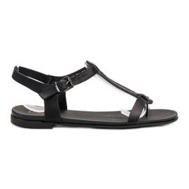 Filippo Musta japanilainen sandaalit