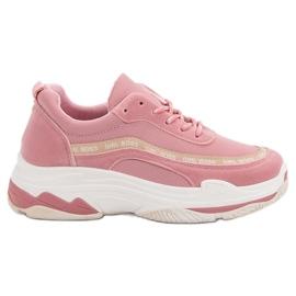 Vaaleanpunainen VICES Sport Shoes pinkki