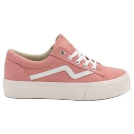 Kylie Muodikas vaaleanpunainen lenkkarit pinkki