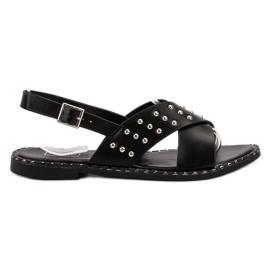 Filippo Muodikas Rock-sandaalit musta