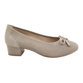 Naisten kengät Caprice 22501 beige kultainen