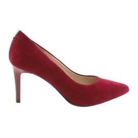 Punaiset naisten kengät SALA 7064 punainen