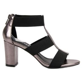 VINCEZAn UP Postin muodikkaat sandaalit harmaa