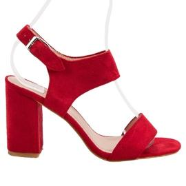 Punainen VINCEZA-sandaalit