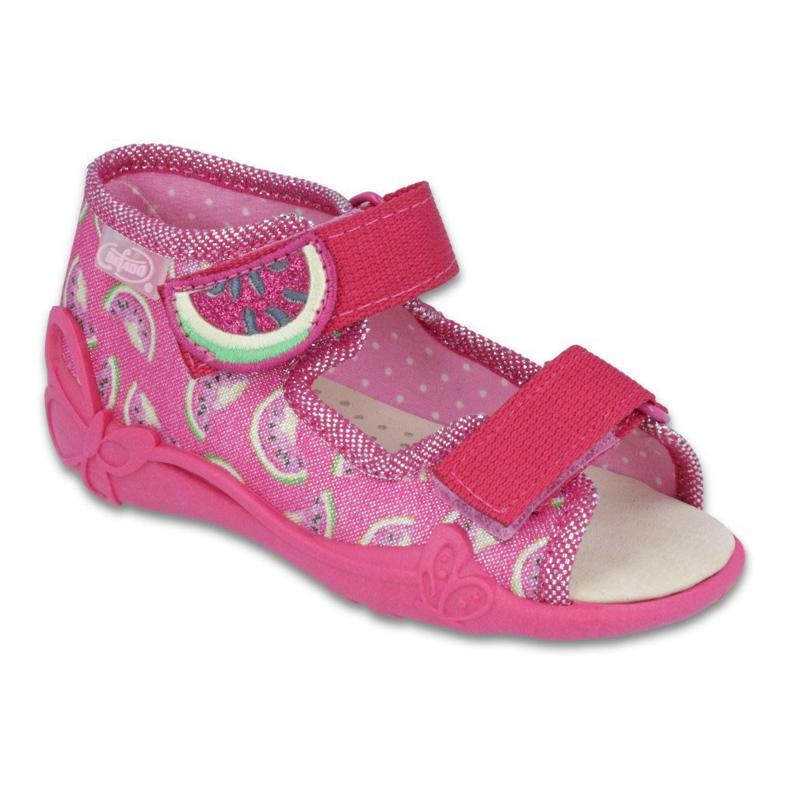 Pinkki Befado keltainen lasten kengät 342P004