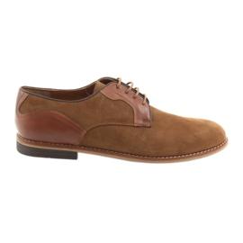 Miesten kengät Badura 3687 ruskea