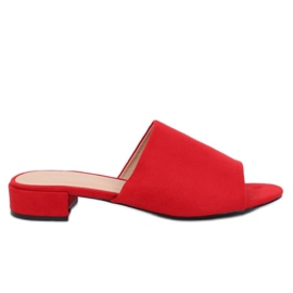 Punainen Naisten punaiset tossut XW9093 Red