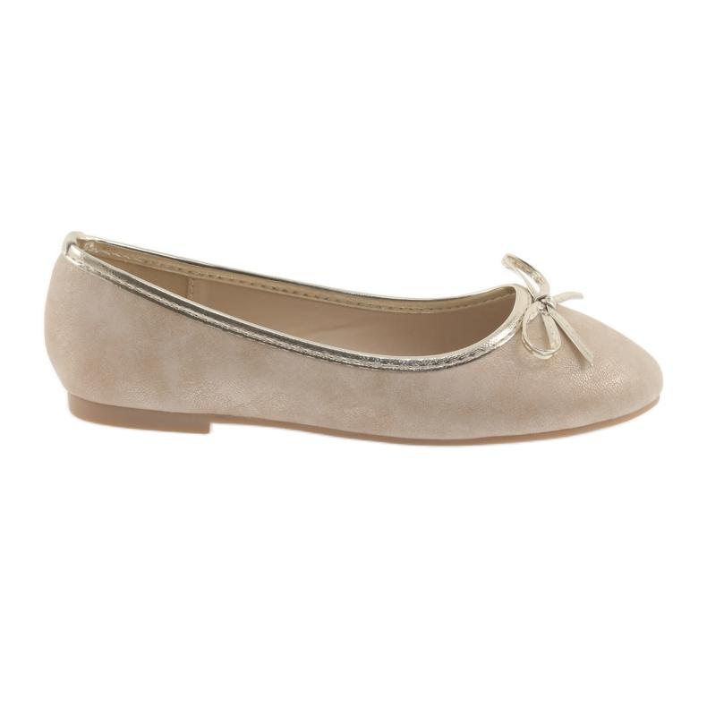 Ballerinas-tyttöjen American Club LU17 beige