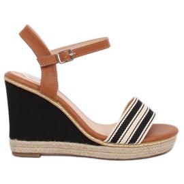 Sandaalit kiiloissa musta 9068 Musta