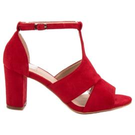 Vinceza punainen Punaiset sandaalit