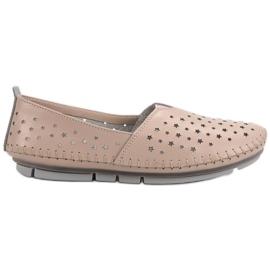 Kylie ruskea Nahka Naisten kengät