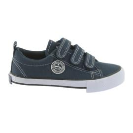 Velcro-tennarit American Club laivasto sininen