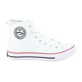Sneakers White Tied American Club valkoinen