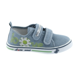 Kengät sininen farkut rakastavat Atletico nahka pohjallista