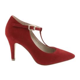 Naisten kengät punainen Caprice 24400