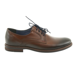 Miesten miesten ruskeat kengät Nikopol 1712