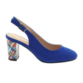 Sininen Sandaalit postitse Sergio Leone 788 indigo mic