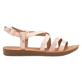 Pinkki Litteät kengät VINCEZA