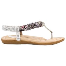Cm Paris harmaa Muodikkaita japanilaisia sandaaleja