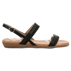 Cm Paris musta Rento sandaalit