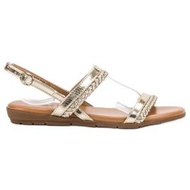 Cm Paris keltainen Rento sandaalit