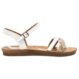 Seastar Muodikkaita sandaaleja valkoinen