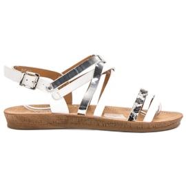 Seastar valkoinen Muodikkaita valkoisia sandaaleja